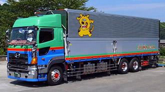 島田トラック運輸株式会社の代表的なトラックの写真